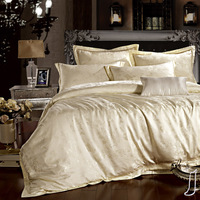 Verhoeff home textile satin jacquard piece set cotton tencel 100% bedding wedding bedding