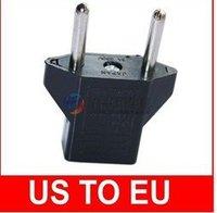 free shipping!wholesale!50pcs/lot Universal Travel Power Adapter charger USA US Plug Convert to EU Europe plug