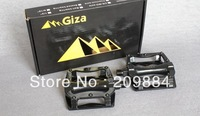 Giza CX-7 CX7 Aluminum alloy ultra-light Ball bike pedals for Mountain MTB Bike bicycle pedals 390g/pairs black color