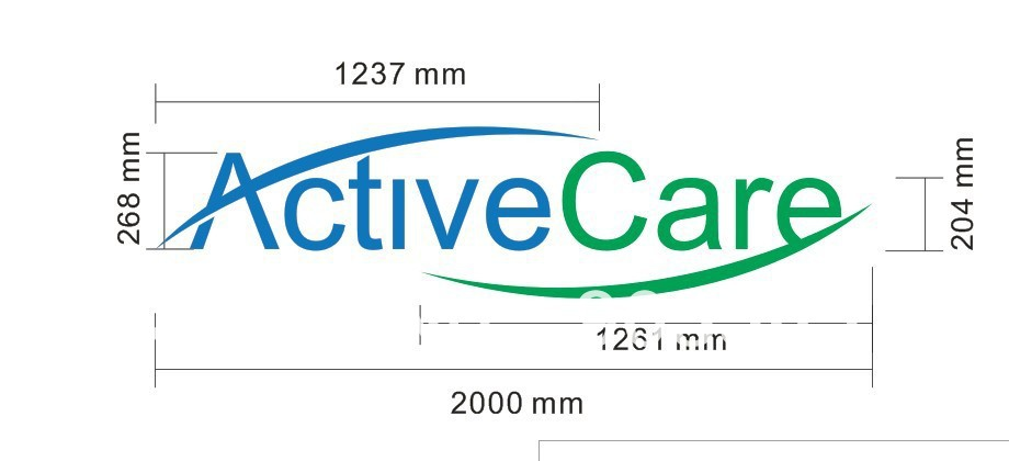 Activecare LED halo logo(China (Mainland))