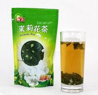 Top grade100g china  jasmine green tea chinese green jasmine tea the organic jasmine flower tea green for health care products
