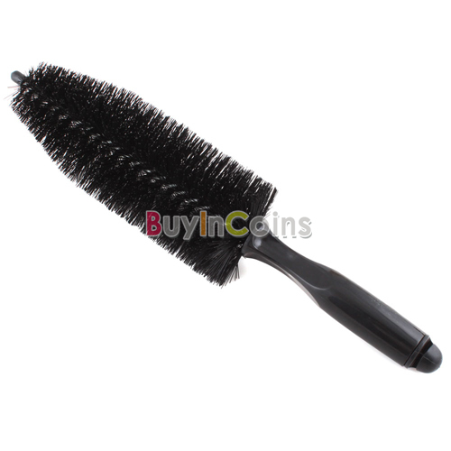 Wheel Tire Rim Scrubbing Brush Wash Cleaning Tool for Truck Car Motorcycle [22001|01|01](China (Mainland))