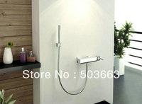 Unique Chrome Wall Mounted Bathroom Shower Faucet Set Vanity Faucet Contemporary Shower Bath Faucet L-3832
