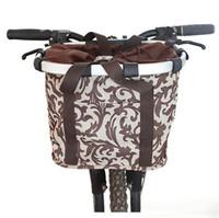 Folding bike basket bicycle basket quality aluminum alloy car bag mountain bike car box folding bike bag