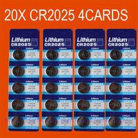 20x CR2025 BR2025 2025 3V LITHIUM BATTERIES