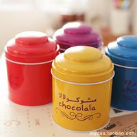 Free Shipping!4 Style Design Tin Tea Box Mini Coffee Box/ Cute Storage Box/ Storage Case 3pc/Lot F13752