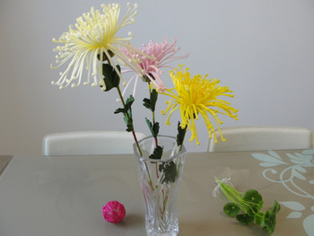 High artificial flower daisy chrysanthemum single silk flower decoration flower artificial flower bowyer
