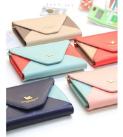 P34-030 New mix color envelop style PU Leather Smart Pouch/mobile phone bag /pu wallet/purse / for note 2