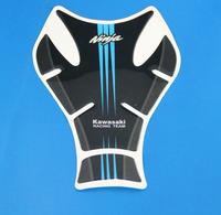 Free Shipping New Racing Motorcycle  Carbon Fiber Resin Tank Pad TankPad Fishbone Protector For Kawasaki Ninnja