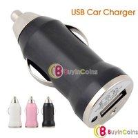 10Pcs/lot Mini USB Car Charger for Mobile Phone 800mA   [2698|99|10]