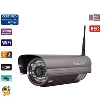 EasyN H3-A405 H.264 420 TVL Image Sensor Security Wireless IP Camera