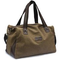 Free shipping women & men cotton canvas big bag luggage handbag large capacity travel bags