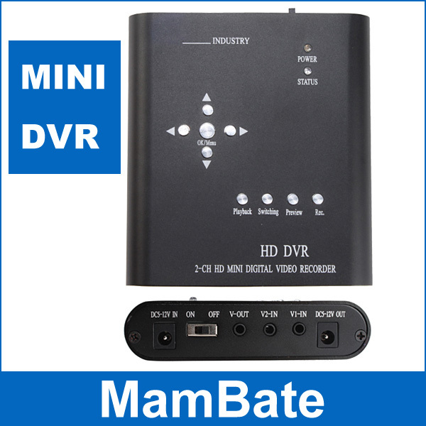 DVR Best Quality! 2CH Network Security Surveillance CCTV DVR Digital Video Recorder Motion Max 32G(China (Mainland))