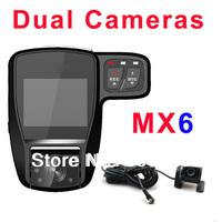 MX6 158 Degress Wide Angle Car DVR Automobile Data Recorder 2.0 Inch HD LCD Car Video