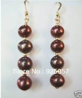 Charming! 8mm   Shell Pearl Earring Fashion jewelry