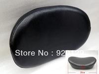 Contour Backrest Black Cushion Pad for Harley Honda Kawasaki Suzuki Yamaha Free Shipping