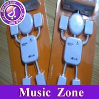 EMS/DHL 200PCS/LOT Free shipping Retail pack white HI-SPEED USB 2.0 4 port USB HUB,human shape/battroid USB HUB,multi port HUB