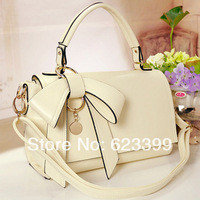 2013 summer female vivi bow the trend handbag messenger bag candy color women's handbag