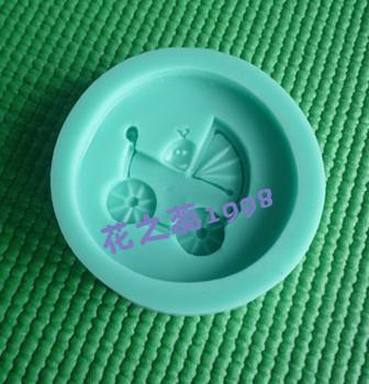 Cartoon baby silica gel resin mould sugar cake tools diy polymer clay