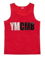 YMCMB Cotton Vest Cool Summer Hip Hop Tank Top Hot Sale Men Singlet Cheap Price Sleeveless Apparel Wholesale Sportwear