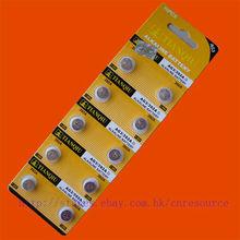 10PCS AG3 LR41 392 SR41SW alkaline battery TIANQIU