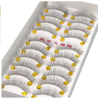 New Arrivel 10 Pairs Of Reusable Natural and Regular Long False Eyelashes Artificial Fake Eyelashes