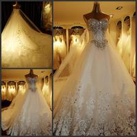 2012 bandage tube top wedding dress princess big train wedding dress xj457921