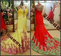 Ultimate luxury crystal formal dress formal dress toast the bride married formal dress evening dress 2013 spring