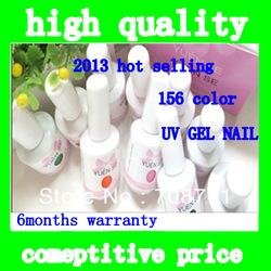 Free Shipping 2013 Multi-Color Shellac Nail Polish Gel Polish Nail Art Colors UV Gel Polish(China (Mainland))