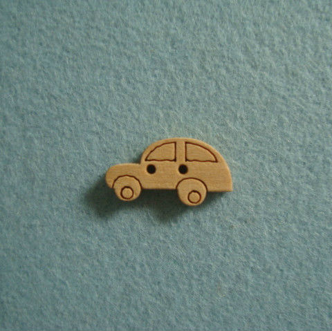 2cm length,wood button,car shape,free shipping ,MOQ is 100pcs(China (Mainland))