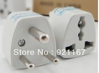 Freeshipping,Hot Cheap 20PCS WholeSale Universal New  EU US UK AUS to South Africa AC Power Travel Plug Adapter,HOTSALE