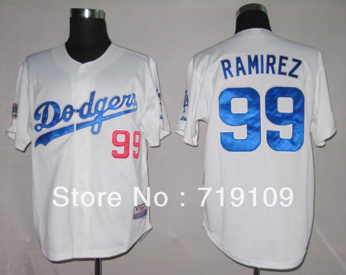 Free Shipping #99 Manny Ramirez Men&#39;s Baseball Jersey,Embroidery and Sewing Logos,size M--3XL,Accpet Mix Order(China (Mainland))