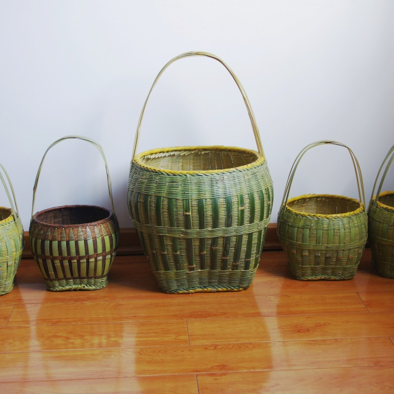egg bamboo basket cabarets storage(China (Mainland))