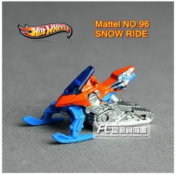 Free shipping~The Snow Ride Super sled alloy car models Brand toys