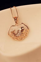 Free shipping Free shipping National diamond trend - eye carp lucky necklace super alloy