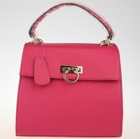 Freeshipping wholesale retail2013new fashion100%genuine leather premium women's handbag shoulder diagonal fashion antique bag 10