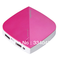 Authentic new dazzle colour online charging treasure android phone charger mobile power(China (Mainland))