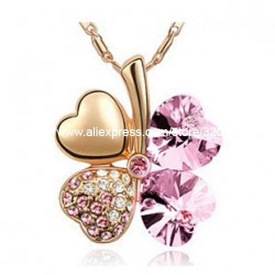 clover necklace rose gold(China (Mainland))