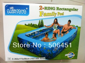 2.62M SWIMMING POOL,fit for a family,best seller inflatable swimming pool in China,