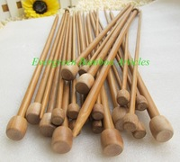 Sales Promotion 35cm Carbonized BAMBOO KNITTING NEEDLES,4.0mm, 10pairs/ lot, free shipping