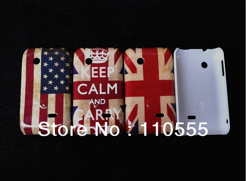 wholesale-UK USA flag skull head Effiel tower tape Game hard case for Sony Xperia Tipo ST21i 100pcs/lot DHL EMS free shippping(China (Mainland))