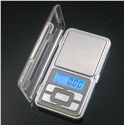 Factory price 500g x 0.1g Mini Electronic Digital Jewelry weigh Scale Balance Pocket Gram LCD Display With Retail Box(China (Mainland))