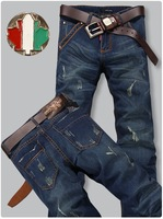 Retail&Wholesale, Top Quality, 2013 New Arrival Newly Style Famous Brand Jeans Men Fasion