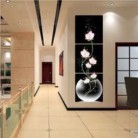 "Free shippment  wall art 3 Piece Large TOP Modern ""HOME & WALL ""Decor ART oil painting on canvas wall art (no framed)"