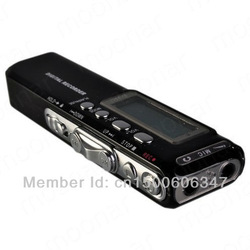 Black 8GB Digital Voice Recorder MP3 Phone Record For Meetings Interview Lesson(China (Mainland))