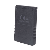 5pcs/lot Free shipping 64 MB 64MB Memory Card For PlayStation 2 PS2 Slim