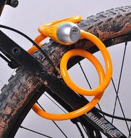 2013 NEW Bicycle Lock bike motorcycle Tonyon Steel Coil Cable Locking Cable Motorcycle lock with Lock Holder[r02064]