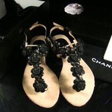 popular sheepskin sandals