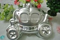 2015 Carriage Shaped Cake Pan Baking Mold Decoration Tool Metal Cake Mould Cake Baking Pan Free Shipping