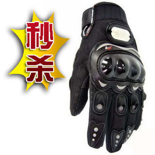 Pro full finger gloves wear-resistant breathable gloves automobile race off-road knight gloves